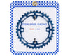 Image 2 for Cook Bros. Racing 4-Bolt Chainring (Blue) (38T)