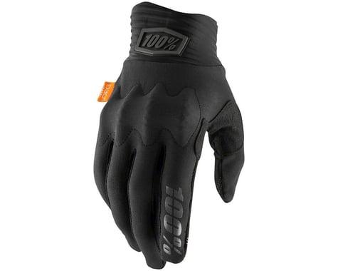 100% Cognito Full Finger Gloves (Black/Charcoal) (S)