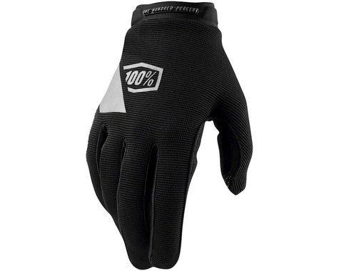 100% Ridecamp Youth Glove (Black) (Youth L)