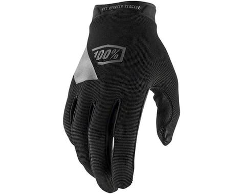 100% Ridecamp Men's Full Finger Glove (Black/Blue) (L)