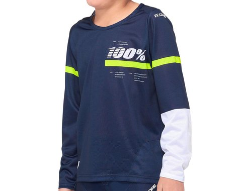 100% R-Core Youth Jersey (Blue) (Youth S)