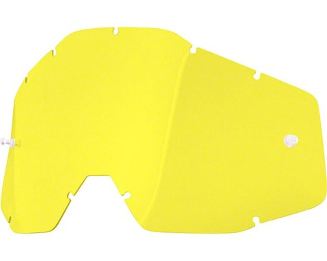 100% Replacement Lens (Yellow Anti-Fog Lens)