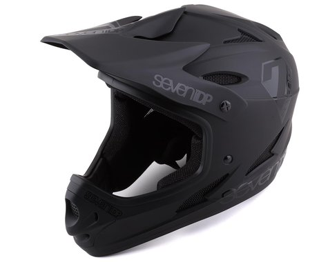7iDP M1 Full Face Helmet (Black) (S)