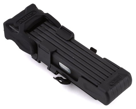 Abus Bordo 6015/90 Folding Lock w/ Matching eBike Battery Lock Core (Black)