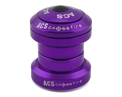 "ACS Headset Crossfire External (Purple) (1-1/8"")"