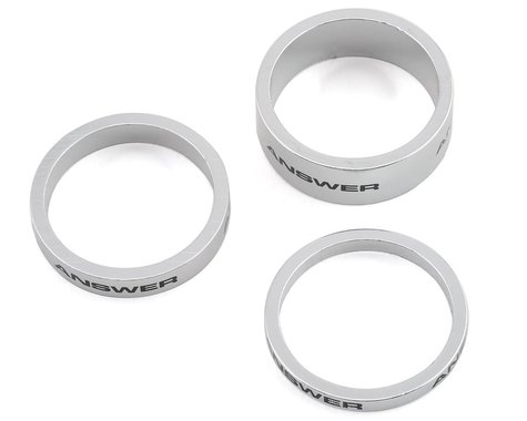"""Answer Alloy Spacer (Polished) (3 Pack) (1"""")"""