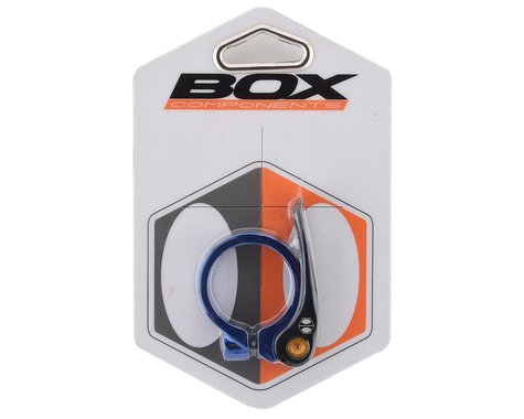 Box One Quick Release Seat Clamp (Blue) (34.9mm)