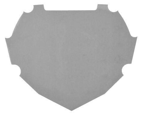 Box Number Plate Decal (Grey) (L)
