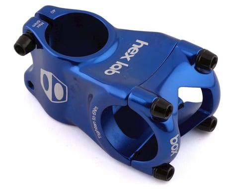 "Box Hex Lab BMX Stem (Blue) (1"") (28.6mm Clamp) (40mm)"