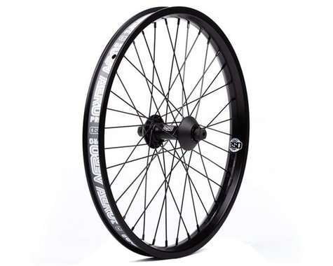 BSD Aero Pro Front Wheel (Black) (20 x 1.75)