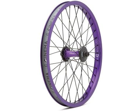 Cinema ZX Front Wheel (Purple) (20 x 1.75)