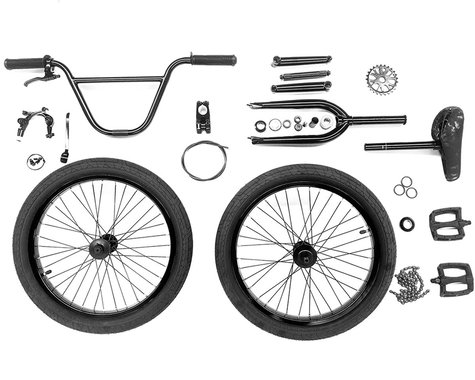 Colony BYO Frame Expert Bike Build Kit (Black)