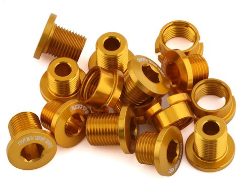 Cook Bros. Racing Alloy Chainring Bolts (Gold) (15)