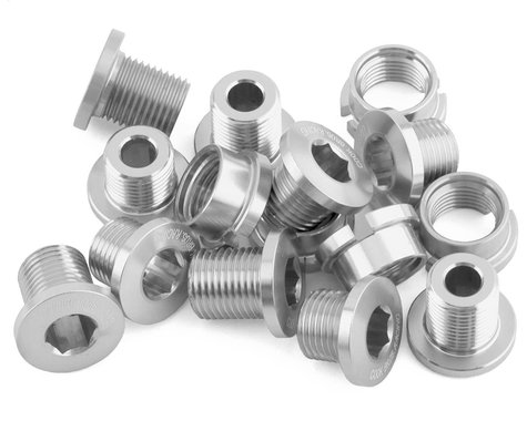 Cook Bros. Racing Alloy Chainring Bolts (Silver) (15)