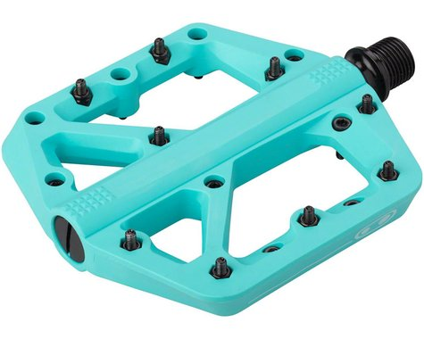 Crankbrothers Stamp 1 Platform Pedals (Turquoise) (L)
