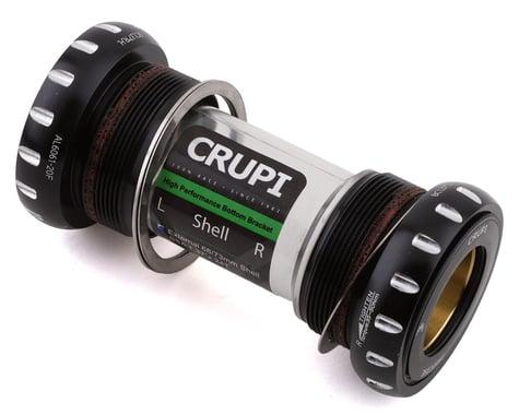 Crupi Precise Tiramic External Euro Bottom Bracket (Black) (24mm)