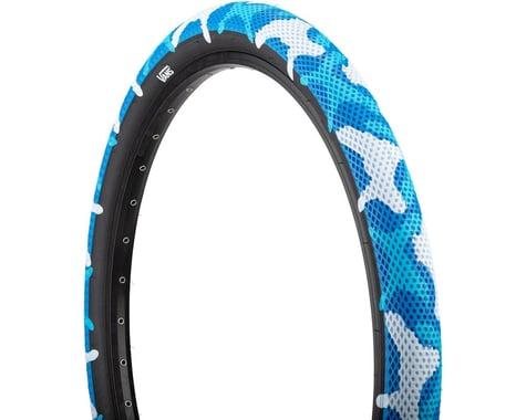 "Cult Vans Tire (Blue Camo/Black) (2.4"") (20"" / 406 ISO)"