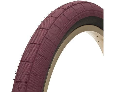 "Demolition Momentum Tire (Maroon/Black) (2.2"") (20"" / 406 ISO)"