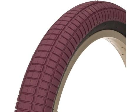 "Demolition Hammerhead-T Tire (Mike Clark) (Maroon/Black) (2.25"") (20"" / 406 ISO)"