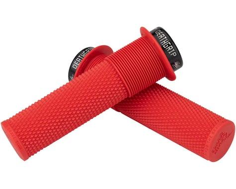 DMR Brendog Flanged DeathGrip (Red) (Thick) (Pair)