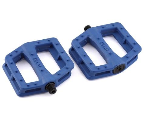 """Eclat Centric Plastic Pedals (Blue) (9/16"""")"""
