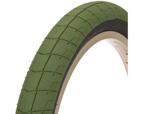 "Eclat Fireball Tire (Army Green/Black) (2.4"") (20"" / 406 ISO)"