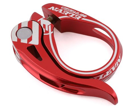 Elevn Aero Quick Release Seat Post Clamp (Red) (27.2mm)