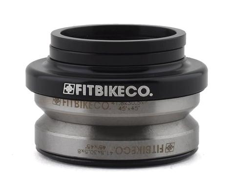 "Fit Bike Co Integrated Headset (Black) (1-1/8"")"
