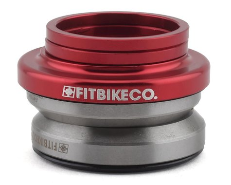 """Fit Bike Co Integrated Headset (Blood Red) (1-1/8"""")"""