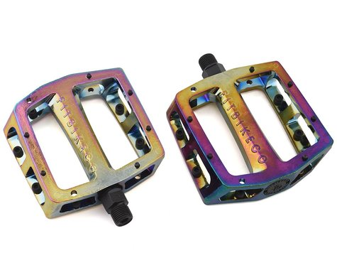 """Fit Bike Co Alloy Unsealed Pedals (Oil Slick) (9/16"""")"""