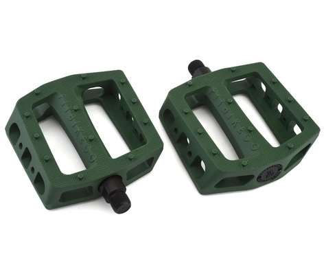 """Fit Bike Co PC Pedals (Army Green) (9/16"""")"""