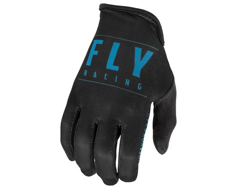 Fly Racing Media Gloves (Black/Blue) (L)