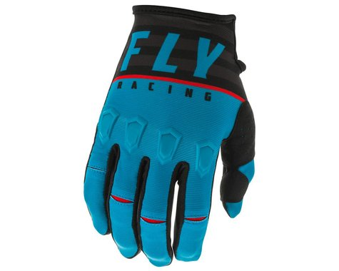 Fly Racing Kinetic K120 Gloves (Blue/Black/Red) (2XL)