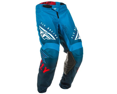 Fly Racing Youth Kinetic K220 Pants (Blue/White/Red) (18)