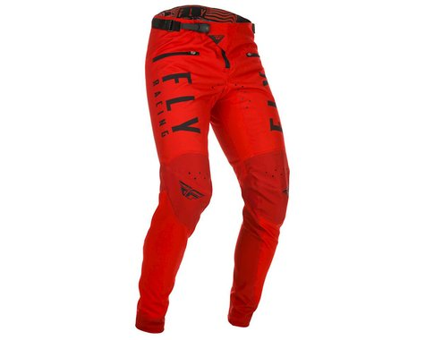 Fly Racing Youth Kinetic Bicycle Pants (Red) (20)