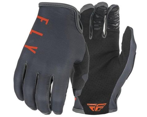 Fly Racing Lite Gloves (Grey/Orange) (S)