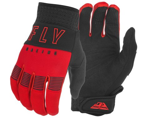 Fly Racing F-16 Gloves (Red/Black) (Youth 2XS)
