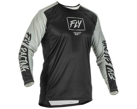 Fly Racing Lite Jersey (Black/Grey) (S)