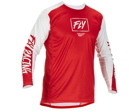 Fly Racing Lite Jersey (Red/White) (S)