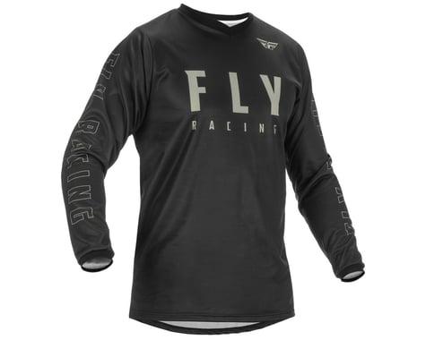 Fly Racing F-16 Jersey (Black/Grey) (5XL)