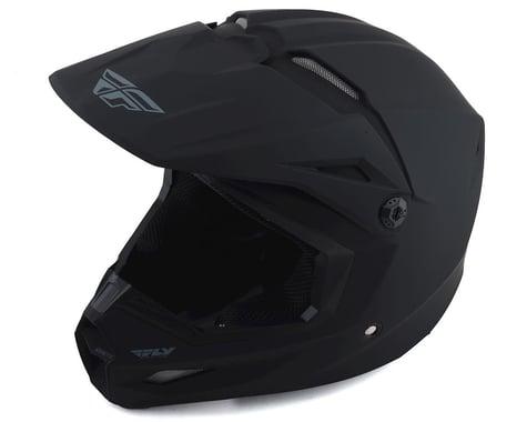 Fly Racing Kinetic Solid Helmet (Matte Black) (XL)