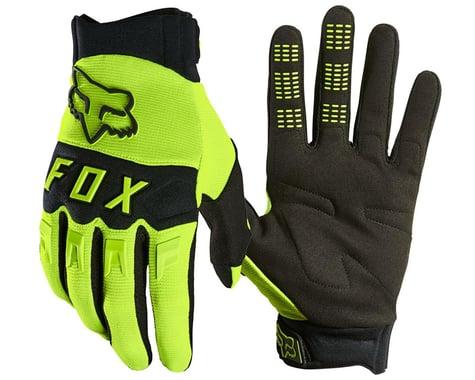 Fox Racing Dirtpaw Glove (Flo Yellow) (M)