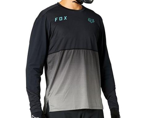 Fox Racing Flexair Long Sleeve Jersey (Black) (M)