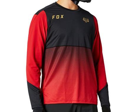 Fox Racing Flexair Long Sleeve Jersey (Chili) (M)