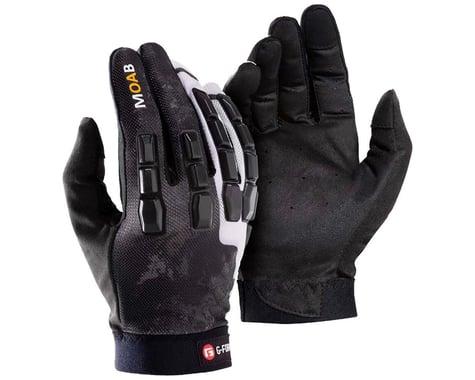 G-Form Moab Trail Bike Gloves (Black/White) (XL)
