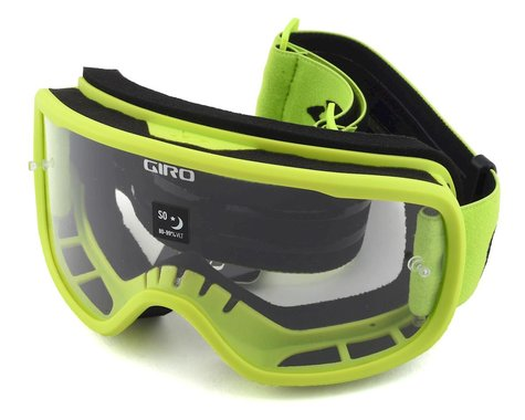 Giro Tempo Mountain Goggles (Lime) (Clear Lens)
