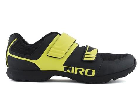 Giro Berm Mountain Bike Shoe (Black/Citron Green) (48)