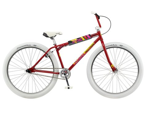"""GT 2021 Dyno Pro Compe Heritage 29"""" BMX Bike (23.5"""" Toptube) (Red)"""