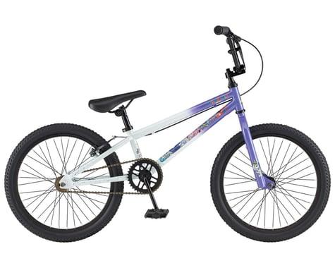"GT 2021 Friend Ship BMX Bike (Gloss White/Purple Fade) (18.5"" Toptube)"