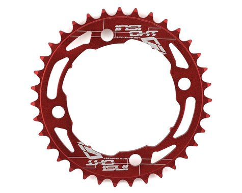INSIGHT 4-Bolt Chainring (Red) (35T)